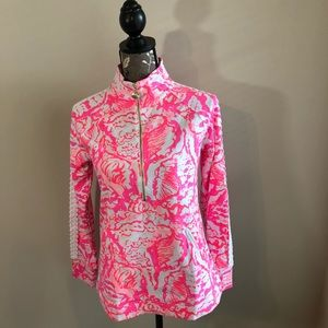 Lilly Pulitzer Beside The Point Popover Size Small